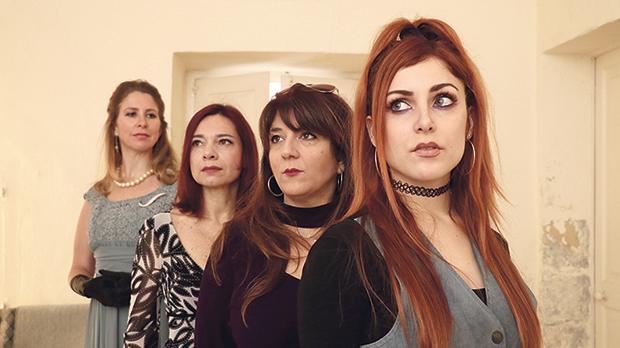 Kate DeCesare, Coryse Borg, Pia Zammit and Nadia Vella.