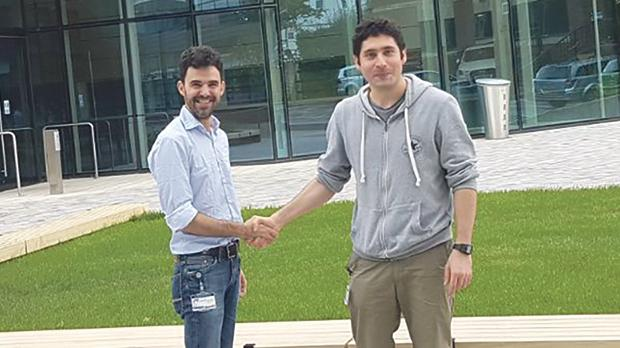 David Saliba and Pablo Cespedes are collaborating on unravelling new molecular components of the Immune Synapse at the University of Oxford in collaboration with the University of Malta.