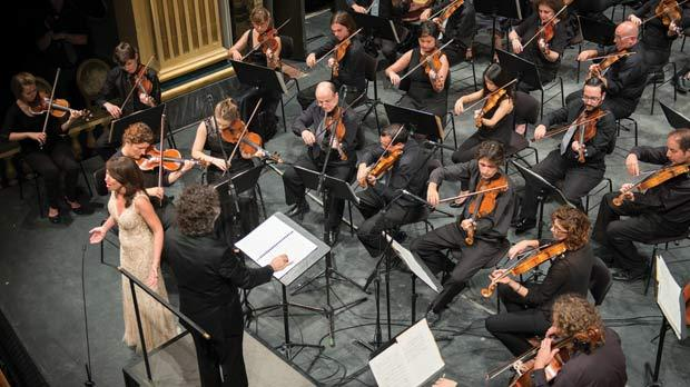 The Malta Philharmonic Orchestra in the last concert of the season.