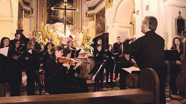 The Goldberg Ensemble under the direction of Michael Laus will be performing The Messiah on Easter Sunday at St Paul's Anglican Pro-Cathedral in Valletta.