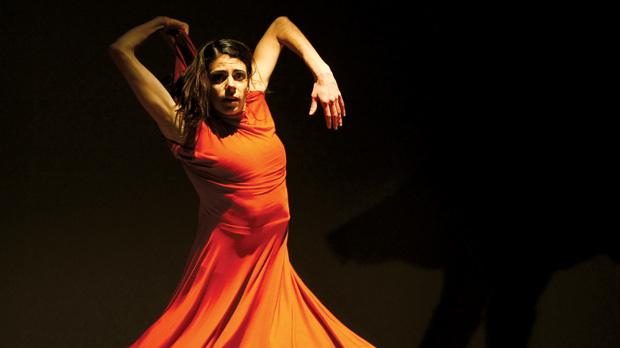 In body and mind, Kanellopoulou was completely engrossed in this performance. Photo: Darrin Zammit Lupi