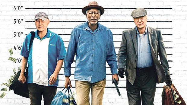 Wallpaper Going In Style Morgan Freeman Alan Arkin: Misses The Mark