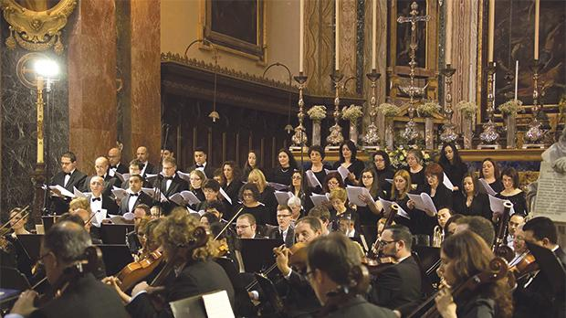 The L'Unione band and Coro Bel Canto will be under the direction of Mro John David Zammit.