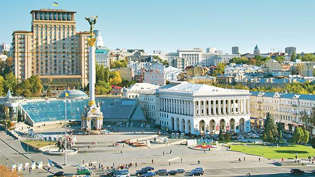 Kiev is one of the oldest and most beautiful cities in Europe.