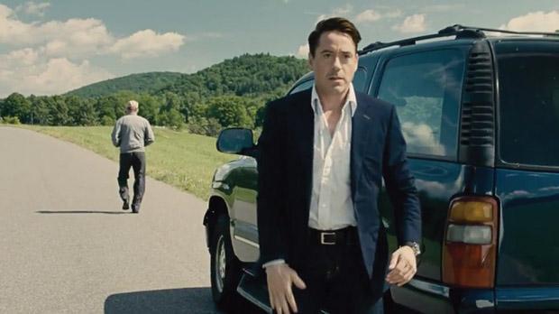 Robert Downey Jr in The Judge.