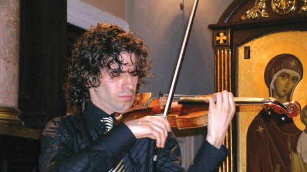 Volodymyr Baran, director of the Violin and Friends International Music Festival.