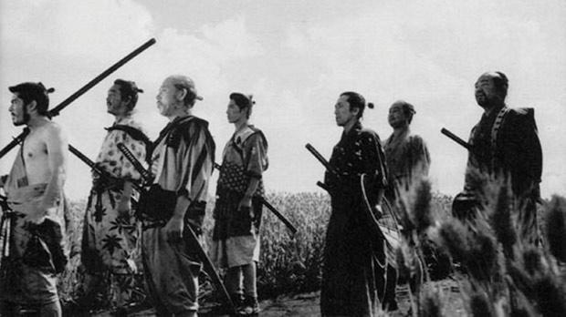 Akira Kurosawa's seminal Seven Samurai.