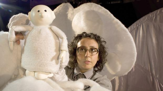 Ailie Cohen in The Cloud Man.