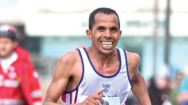 Mohammed Hajjy... back to race in the Land Rover Malta Marathon on February 24.
