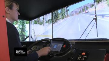 €250,000 bus simulator keeps drivers on their toes
