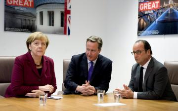 Angela Merkel, David Cameron and Francois Hollande are among the three leaders expected for the migration summit.