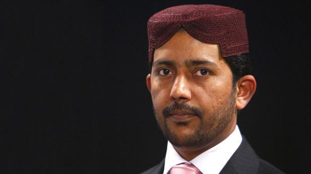Ahmadiyya Muslim Community president Laiq Ahmed Atif.