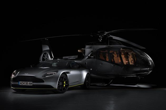 Aston Martin partners with Airbus to launch new helicopter