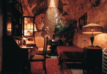What remains of Al Capone's 'luxurious' cell. Photo: Tom Berault