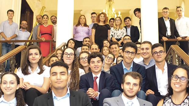 A total of 42 students took part in the third edition of Leaders For a Day.