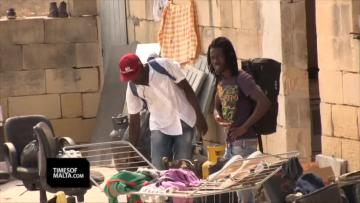 "Watch: Migrants found living ""inhumanely"" in cow stalls in Qormi 