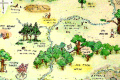 Winnie-the-Pooh map being sold by auction