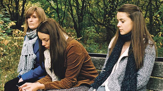 Sisters Alex and Luisa strive to follow in their mother Ivanna's footsteps in Apostasy.