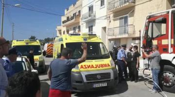 Għargħur explosion believed to have been a bomb - police seek man who fled the scene