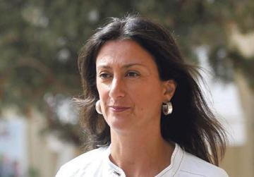Daphne Caruana Galizia was murdered a year ago.