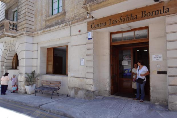 The Cospicua health centre.