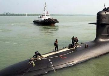 One of the French-built Malaysian submarines.