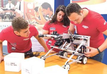 Mcast students represent Malta at robotics challenge in Mexico City