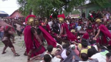 Extreme Easter: Flogging, crucifixions in Philippines