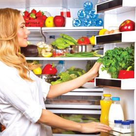 A huge fridge is a sign of a happy home… but is also a massive energy guzzler.