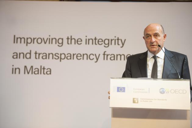 Project aims to improve integrity in holders of public office