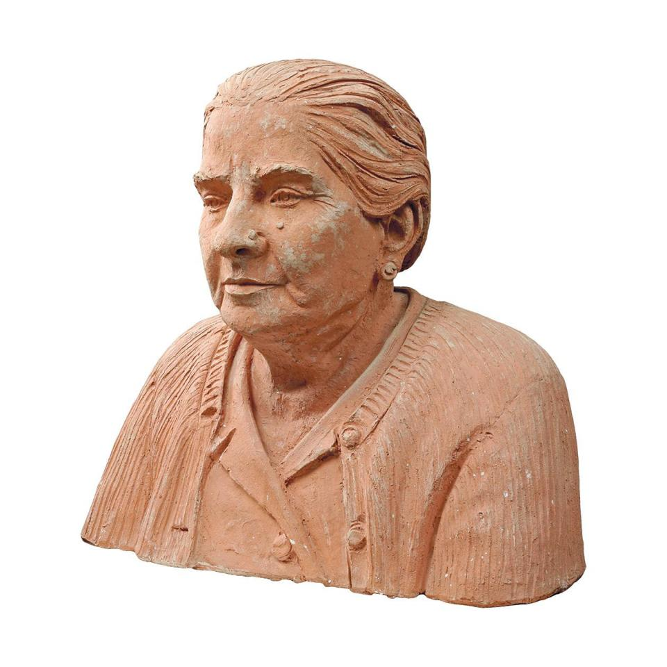 Bust of dad's mother