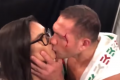 Boxer fined $2,500, sent to harassment classes, for kissing reporter
