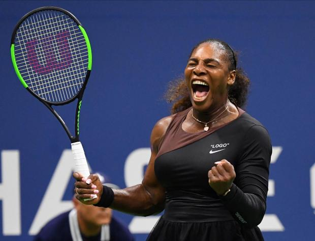 Serena Williams enjoyed a comfortable start to her US Open campaign.