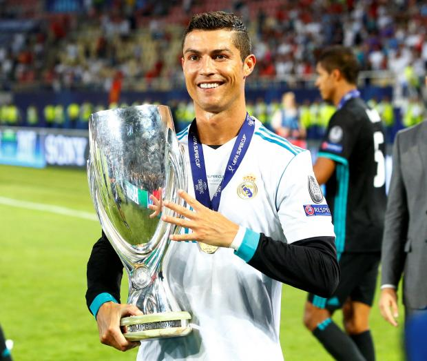 Liverpool Barcelona V S Man Unt Real Madrid: Ronaldo Wins UEFA Player Of The Year Award
