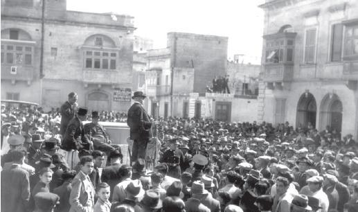One of the Constitutional Party meetings.