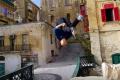 Watch: A stunt man's view of Malta