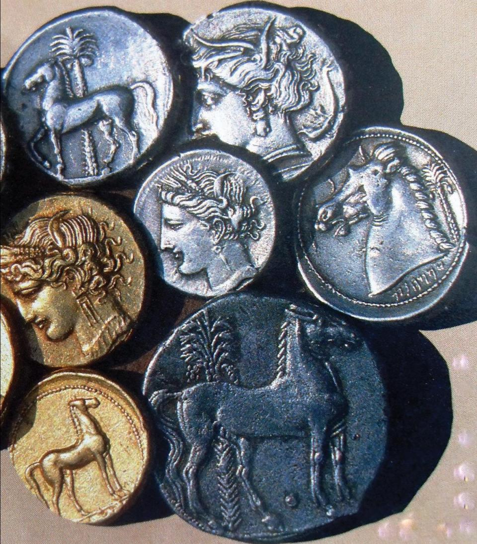 Ancient currency of Carthage