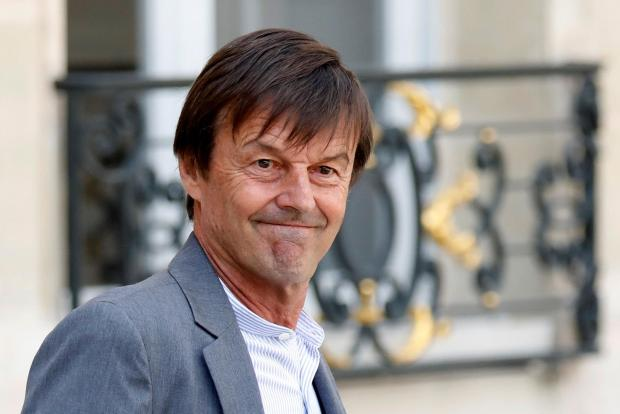 Mr Hulot says progress was inadequate on several fronts. Photo: Reuters
