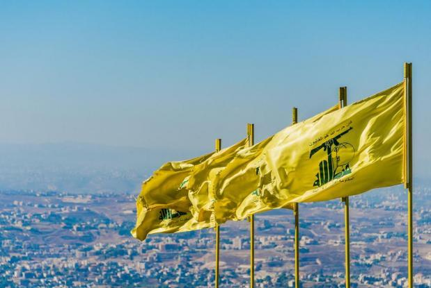 Hezbollah flags. Photo: Shutterstock
