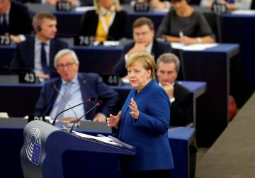 Angela Merkel calls for an EU military