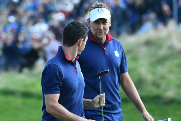 Schauffele and Cantlay to face McIlroy and Poulter as Ryder Cup opens