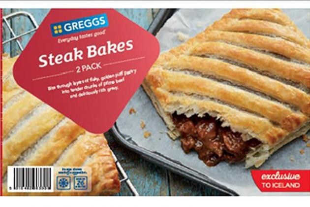 Steak bakes could contain plastic
