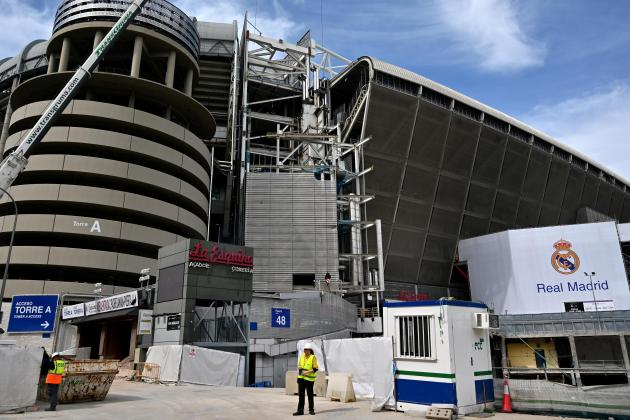 Real Madrid's Santiago Bernabeu to be used as medical storage centre