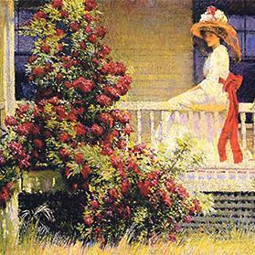 best service 28d43 f04a6 American Impressionism, Garden Movement captured on screen