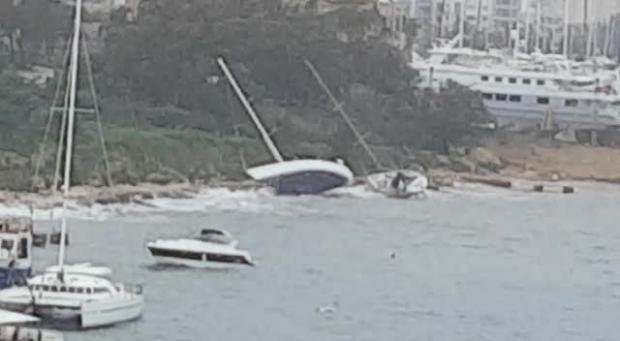 Destruction across Malta as gale-force winds batter islands