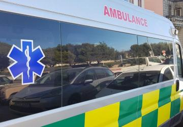 Motorcyclist grievously injured after collision in Paola