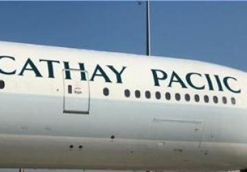 Cathay Pacific loses 'f' in spelling error on new plane
