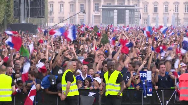 Watch: France fans go wild from Paris to Moscow after World Cup win