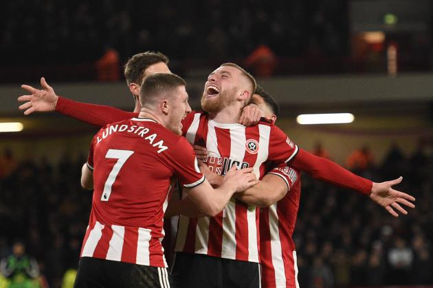 Sheffield United shake up Premier League's top six