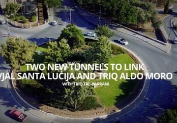 New tunnels being built in Sta Luċija